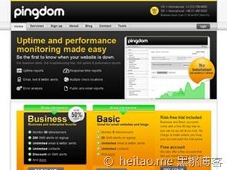 PingDom – 网站监控免费一年商务套餐