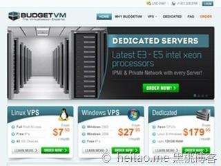 BudgetVM – 月付10美元XEN,1G 40G 1TB 千M无限IP 洛杉矶