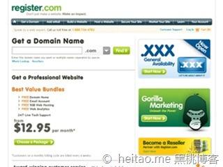 Register – 新用户域名2美元注册优惠码