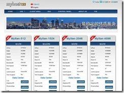 Myhost123 – 首月3折限时优惠码