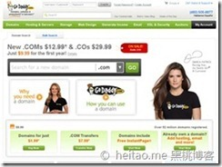 Godaddy - 7月.com域名 2.99美元