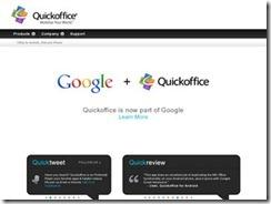 QuickOffice - Google宣布QuickOffice正式免费,附送10GB空间
